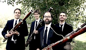 In April 2015, the Boulder Bassoon Quartet is coming to the Jones Theater, Westcliffe, Colorado