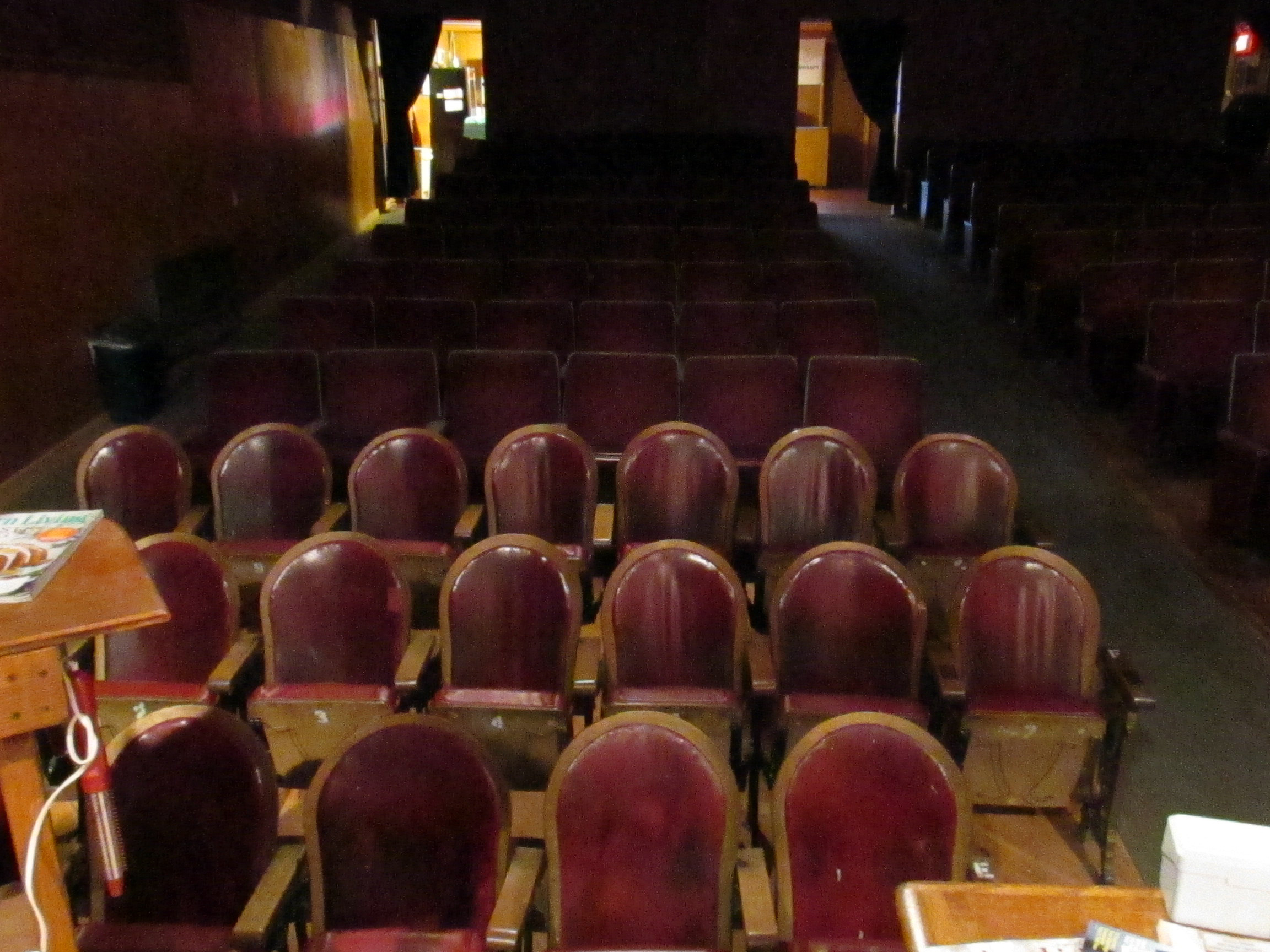 Old Theater Chairs - Historic Jones Theater, Westcliffe, Colorado
