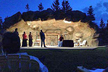 Night Photo, Shakespeare in the Sangres