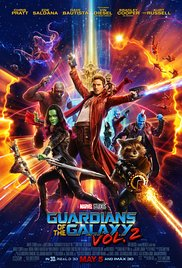 Guardians of the Galaxy, Vol. 2, another first-run film presented by WCPA at the Historic Jones Theater