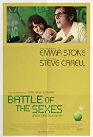 A fine first-run film, Battle of the Sexes, presented at the Historic Jones Theater, Westcliffe, Colorado