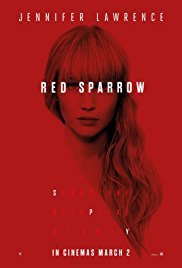 The Historic Jones Theater presents Red Sparrow, another fine first-run film
