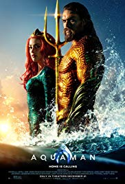 """Aquaman,"" another fine first-run film presented by the Historic Jones Theater, Westcliffe, Colorado"