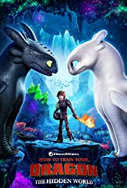 How to Train Your Dragon - The Hidden World,  another fine first-run film presented by the Historic Jones Theater, Westcliffe, Colorado