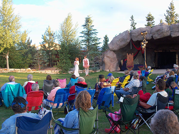Shakespeare in the Sangres, outdoor performances in an exquisite setting